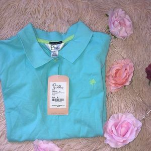 NWT Lilly Pulitzer Blue Polo